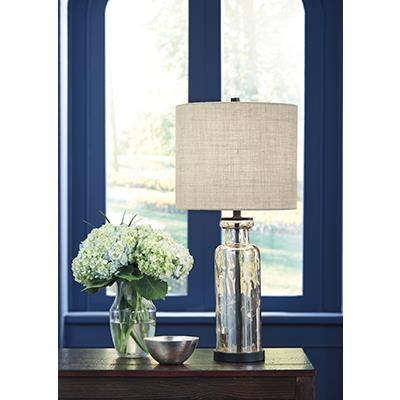 Signature Design   Laurentia Champagne Glass Lamps