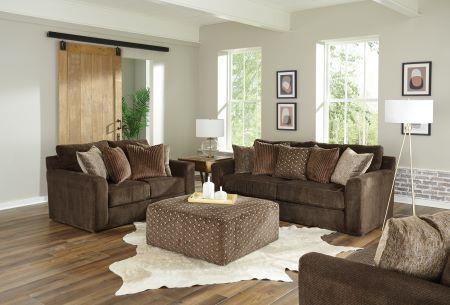 Jackson Furniture Midwood Chocolate SOFA and Chair-1/2