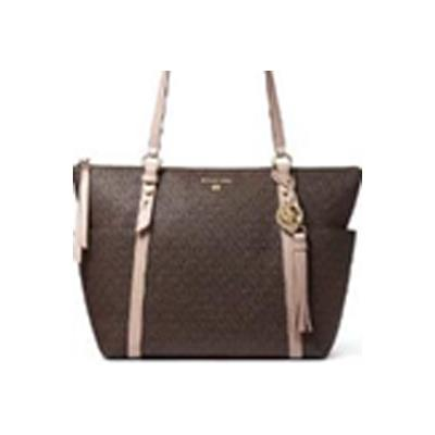 Michael Kors | Sullivan Large Logo Top-Zip Tote Bag - Brown/Soft