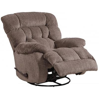 Catnapper | Daly pad-over chaise swivel recliner chateua