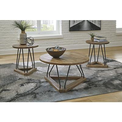 Signature Design   Frielone 3 Pack Tables