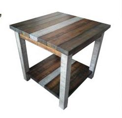 American Imports | END TABLE RUSTIC RETRIEVE