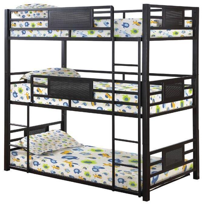 Coaster | Full Triple Bunk Bed
