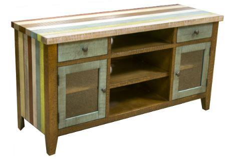 American Imports | Wood Colored TV Stand