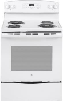 GE Appliances | 30 Coil Top Self Clean White