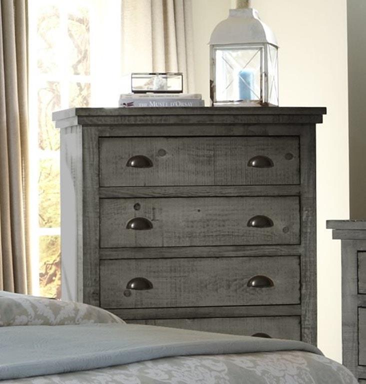 Progressive Furniture | Willow Distressed Gray Chest