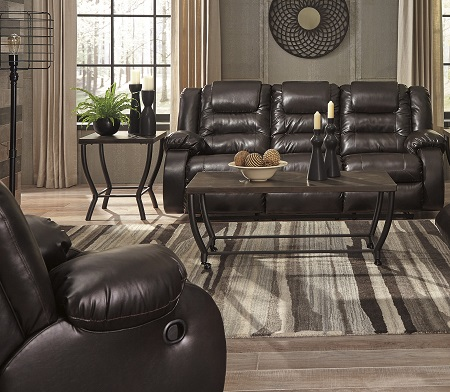 Swell Rent Signature Design Vacherie Chocolate Reclining Sofa Gmtry Best Dining Table And Chair Ideas Images Gmtryco