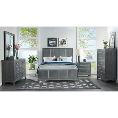 Martin Svensson Home | Grey Slate Queen Bed