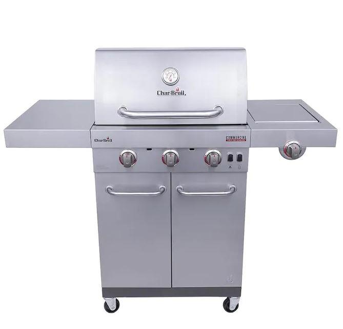 Char-Broil | 3-Burner Gas Grill Stainless Steel
