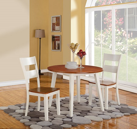 Rent AWF Spice U0026 Buttermilk Drop Leaf Dinnette | Dining Room Furniture  Rental | RENT 2 OWN