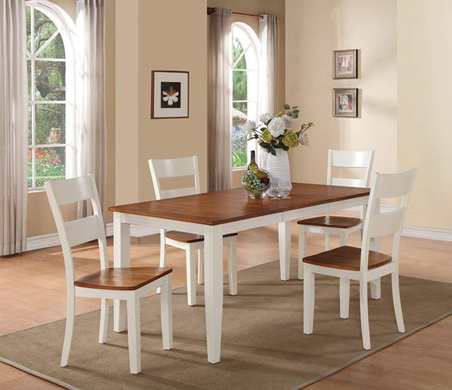 Rent AWF Spice U0026 Buttermilk Dining Set | Dining Room Furniture Rental |  RENT 2 OWN