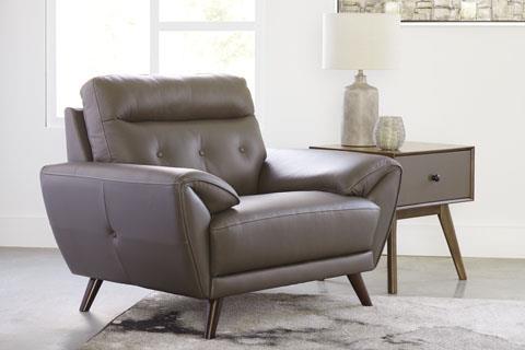 Signature Design Sissoko Gray Chair