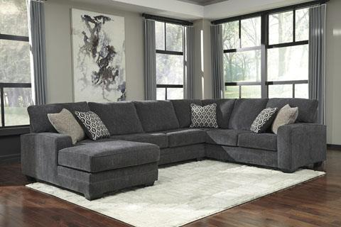 Signature Design | Tracling Slate Sectional