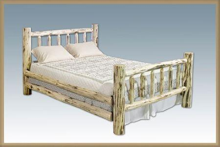 Montana Woodworks   Amish Built Full Spindle Bed