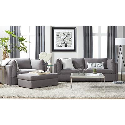 Hughes Image Carbon SOFA and CUDDLER CHAIR