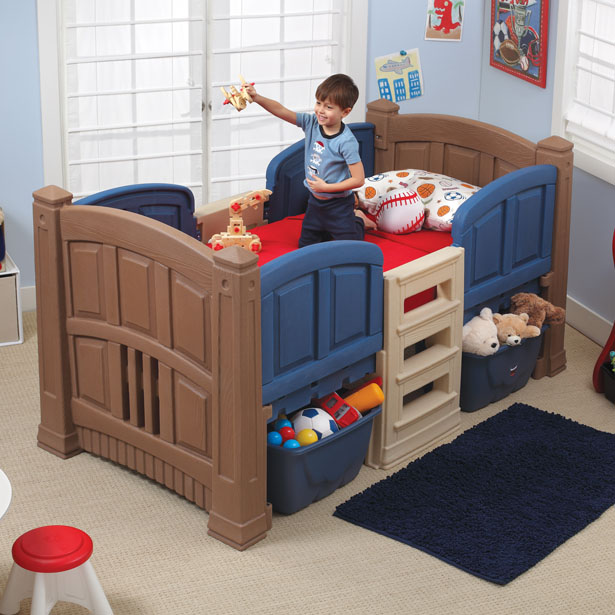 Step2 Boys Loft & Storage Twin Bed™