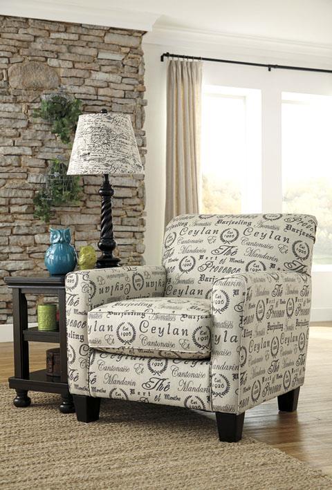 Signature Design   Alenya Quartz Accent Chair