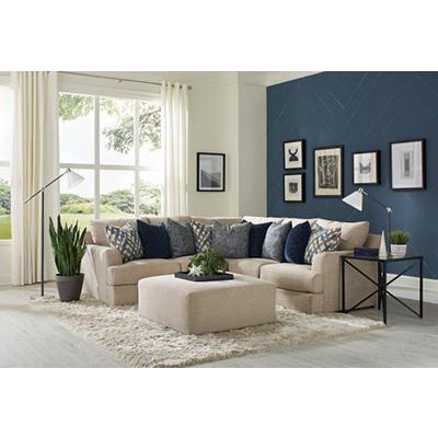 Jackson Furniture   Laguna Almond Sofa / LSF Chaise