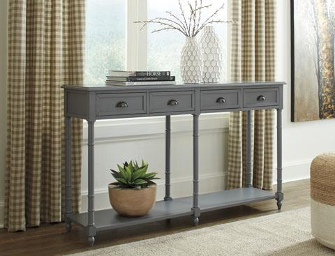 Signature Design   Eirdale Gray Console Table