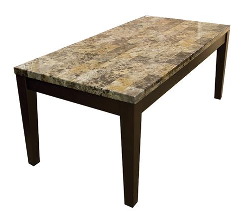 American Imports | COCKTAIL TABLE FAUX MARBLE BRECCIA