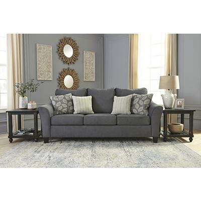 Signature Design | Sanzero Graphite Sofa