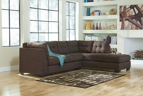 Benchcraft | Maier Walnut RAF Chaise Sectional