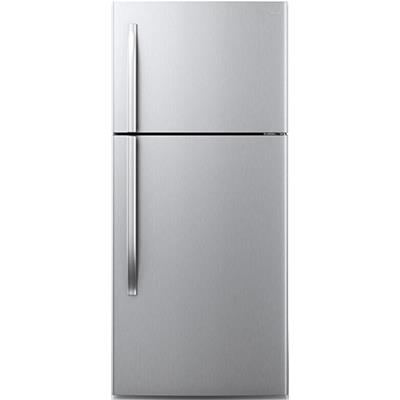 Midea   18 CF Top Mount Refrigerator - Stainless