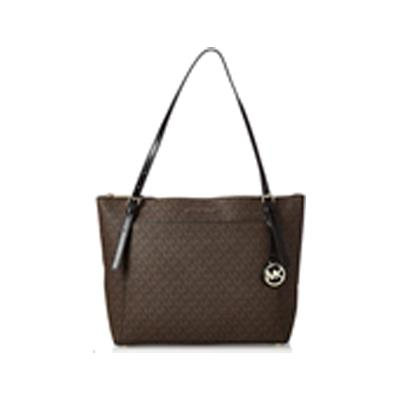 Michael Kors | Voyager LG EZ Tote Brown-Black