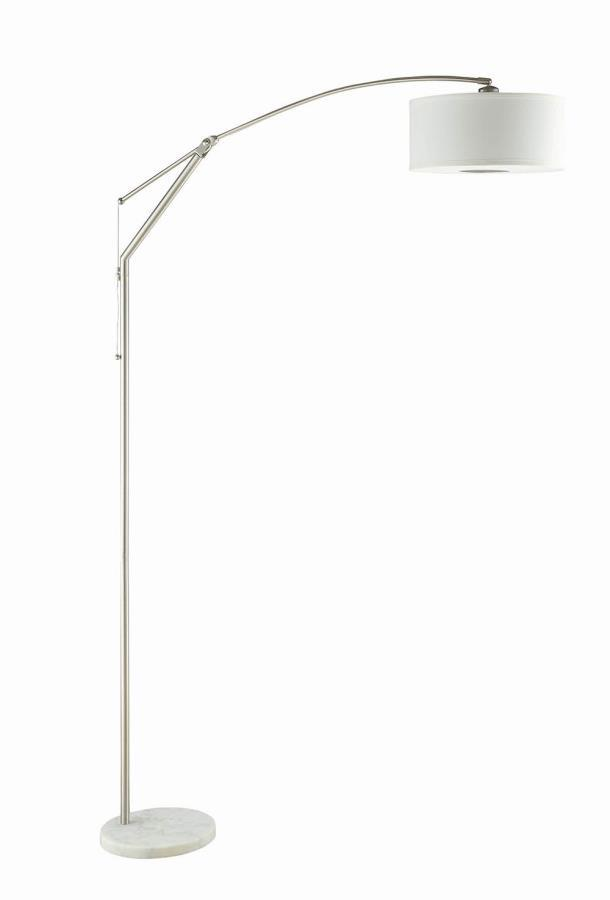 Coaster |  Floor Lamp - White
