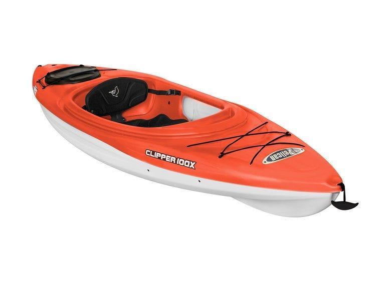 Pelican   Clipper 100x Orange Kayak
