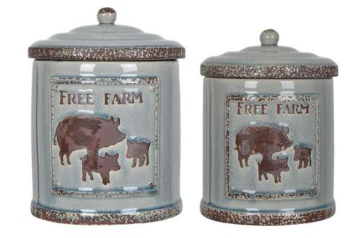 Crestview Collections | Farm House Jars