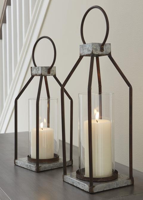 Signature Design Lantern Set