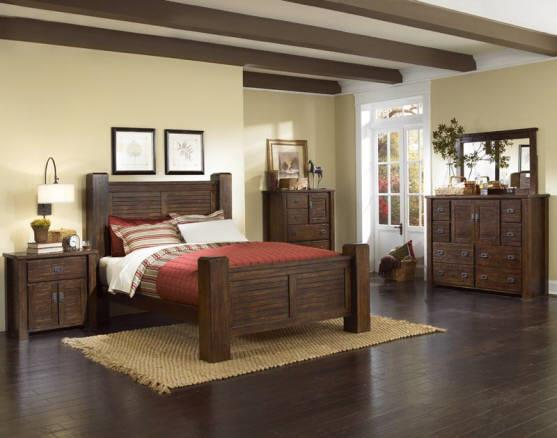 Progressive Furniture | Trestlewood Mesquite Pine Nightstand