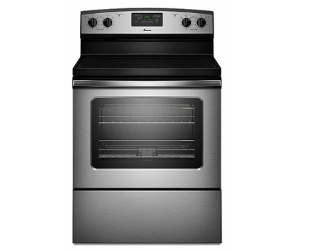 Amana 4.8 cu. ft. Electric Range - Stainless Steel