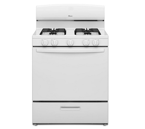 Amana 5.1 cu. ft. Gas Range - White