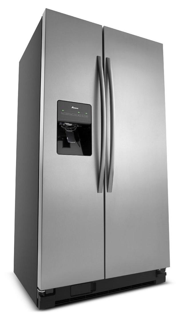 Rent Amana 24.5 cu. ft. Side by Side Refrigerator ... Amana Appliances