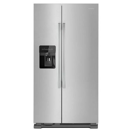 Amana 24.5 cu. ft. Side by Side Refrigerator - Stainless Steel