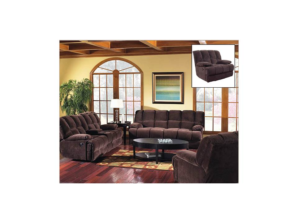 American Wholesale Furniture 201d Reclining Sofa Donna