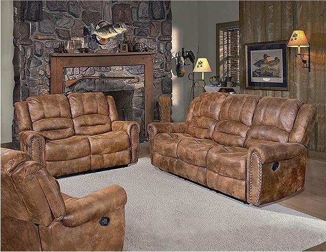 Rent American Wholesale Furniture Reclining Sofa San Antonio - Living room furniture san antonio