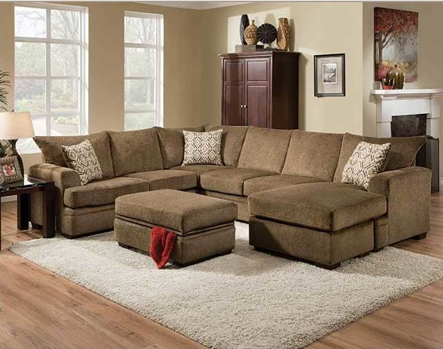 Rent American Wholesale Furniture 6800 2 Piece Sectional
