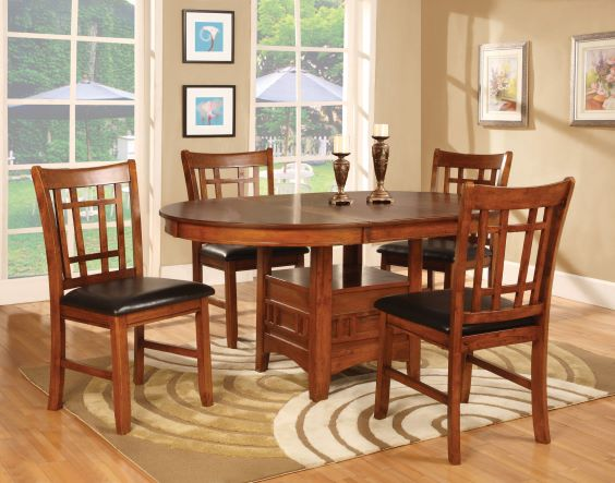 Stupendous Rent Oak Dining Table 4 Chairs Dining Room Furniture Creativecarmelina Interior Chair Design Creativecarmelinacom