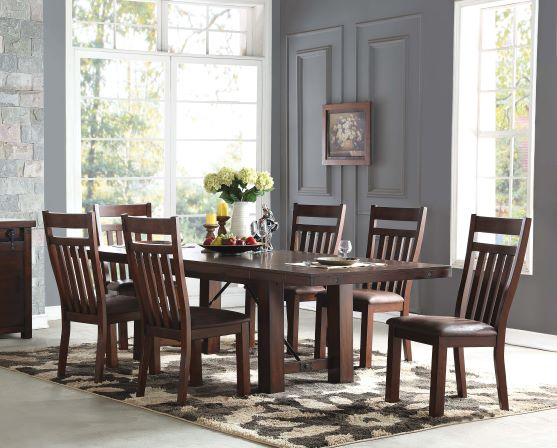 Acacia Dining Table & 6 Chairs