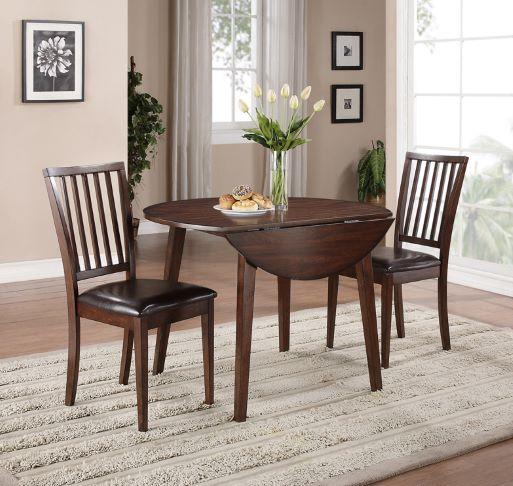 Mango Drop Leaf Table & 2 Chairs