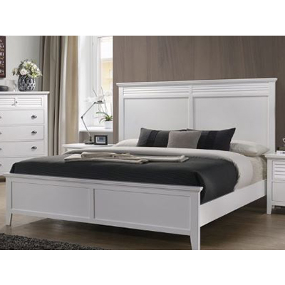 Cottage Bay White Queen Bed