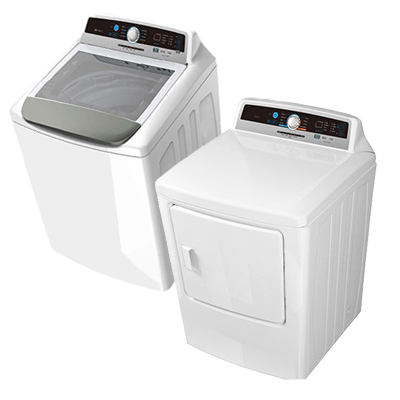 4.1 CF Washer & 6.7 CF Dryer