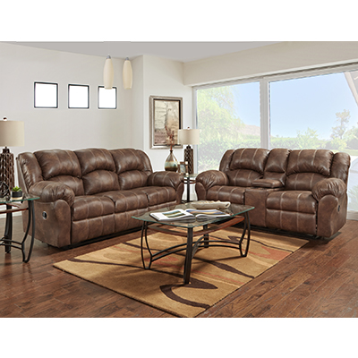 Affordable Telluride Cafe Reclining Sofa & Reclining Loveseat
