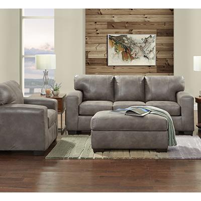 Telluride Latte Sofa & Chair-1/2