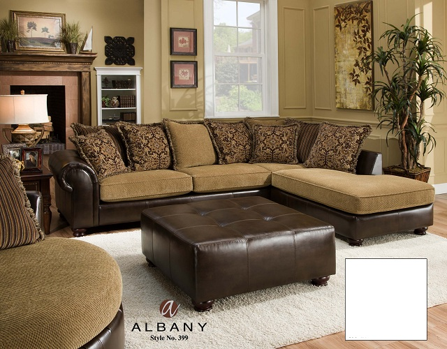 RENT-2-OWN | Catalog | 399 Sectional - Cozy w/