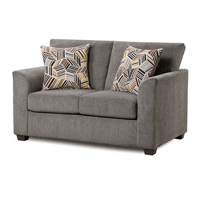 Kennedy Grey Loveseat