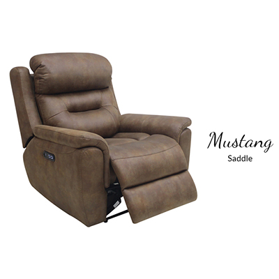 American Imports Mustang Saddle Power Recliner